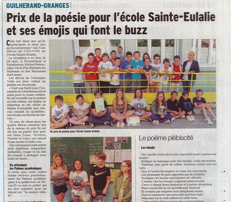 Ecole Sainte Eulalie - GUILHERAND GRANGE