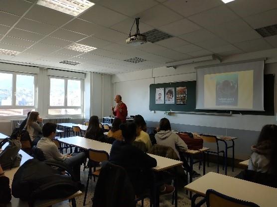 Projet Solidarité lycée St Denis Annonay