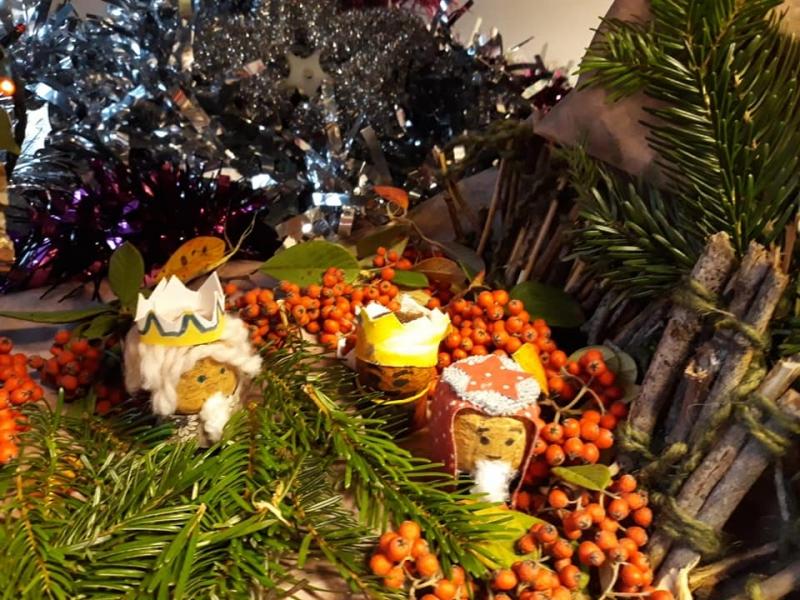 Premier Noël au collège de l'ensemble scolaire Bienheureux Gabriel Longueville