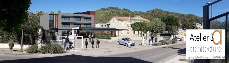 Lundi 5 octobre, le projet de construction de l'ensemble scolaire Gabriel Longueville a été dévoilé.