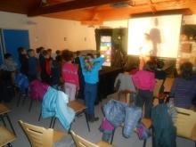 Spectacle à l'école St Joseph à St Fortunat