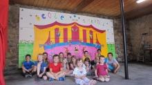 Inauguration d'une fresque à l'école de St Martial.