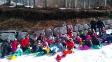 Ecole St Joseph Vesseaux - Une sortie à la neige