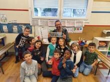 Les apprentis scientifiques de l'école St-Joseph de St-Just d'Ardèche
