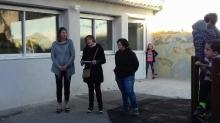 Inauguration de la salle de garderie et de motricité à l'école St Joseph à St Just d'Ardèche.