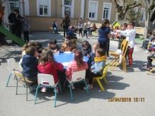 « Bol de riz » à l'école St Etienne de Mélas