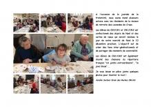 Journée Fraternité - Ecole  des Roches CRUAS