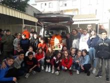 Une collecte au profit de la Banque Alimentaire  au Collège La Présentation de Marie du Teil