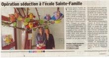 Opération séduction à l'école Sainte Famille - Saint Péray
