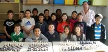 Les échecs à l'École Ste Claire