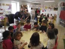 Ce vendredi Saint, l'école des roches à Cruas...