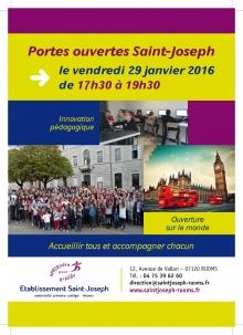 Portes ouvertes Saint-Joseph RUOMS