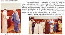 """""""Echos et Nouvelles"""" à Lalouvesc"""