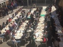 Bol de riz au collège saint louis TOURNON