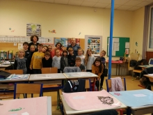 L'école St-Joseph à St-Just d'Ardèche trie ses déchets !