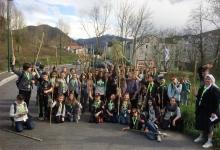 Pèlerinage à Lourdes du 10 au 13 avril 2016 de l'Ensemble Scolaire Marie Rivier de Bourg Saint Andéol.
