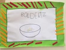 Bol de riz à l'école des Roches à Cruas