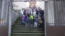 Rencontre entre les jeunes catholique et les jeunes protestants à Vals