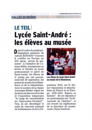 LP Saint-André LE TEIL