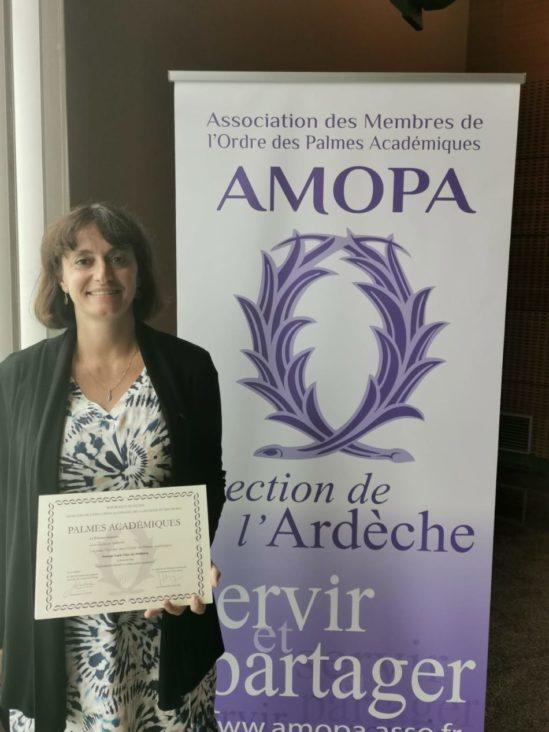 Collège Notre-Dame de Tournon : Lucie Chol-Steinberg à l'honneur
